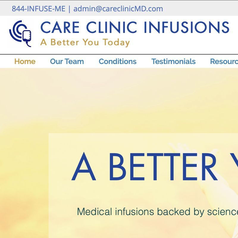 Care Clinic Infusions is a clinic on Psychedelic.Support