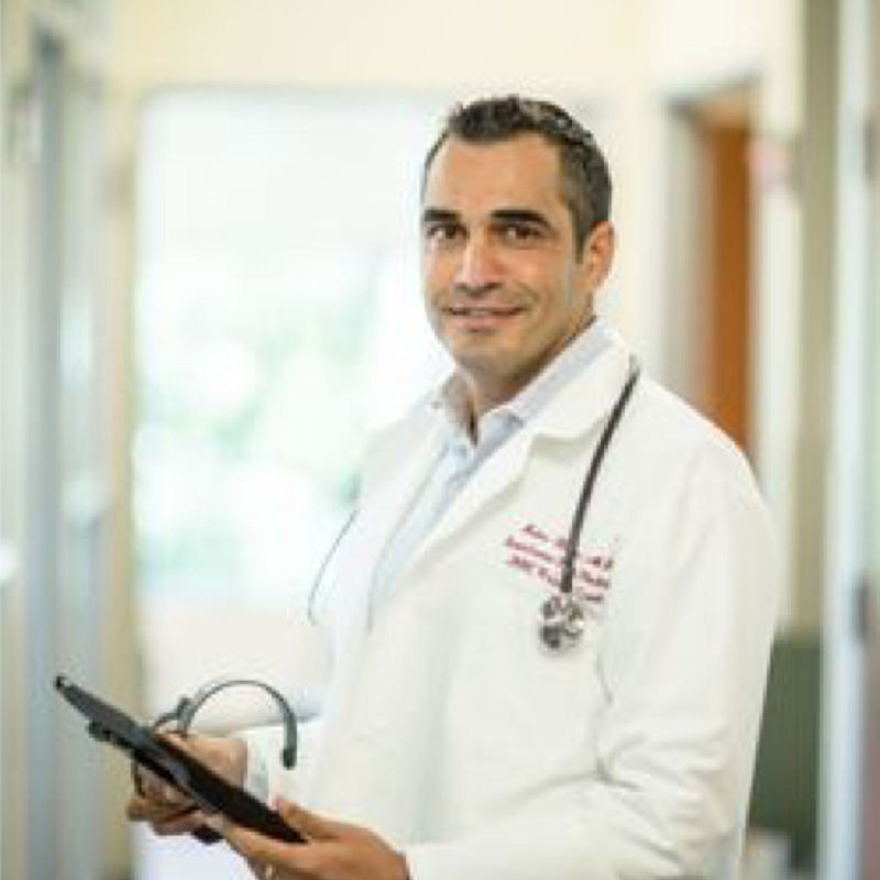 Ruben Kalra, MD is a practitioner on Psychedelic.Support